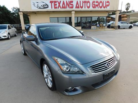2012 Infiniti G37 Convertible for sale in Spring, TX