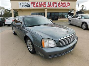 2005 Cadillac DeVille for sale in Spring, TX