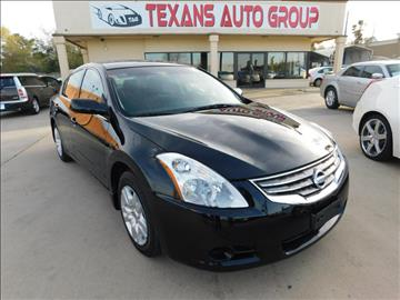 2012 Nissan Altima for sale in Spring, TX