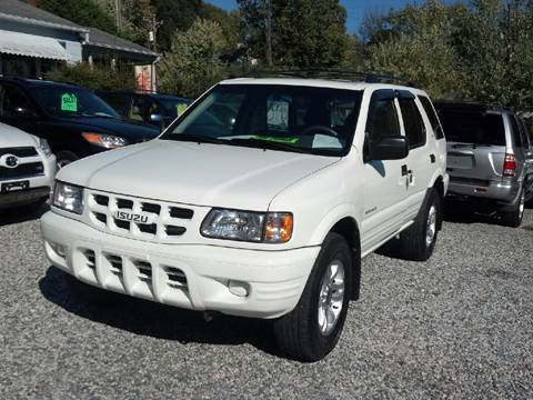 2002 Isuzu Rodeo for sale at Venable & Son Auto Sales in Walnut Cove NC