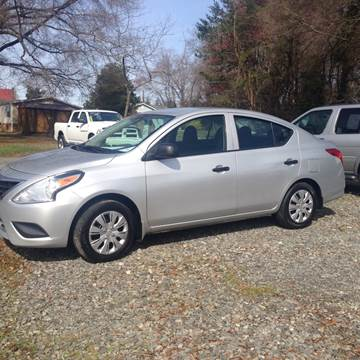 2015 Nissan Versa for sale at Venable & Son Auto Sales in Walnut Cove NC