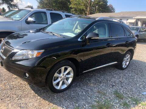 2010 Lexus RX 350 for sale at Venable & Son Auto Sales in Walnut Cove NC