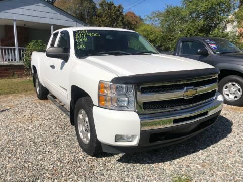 2011 Chevrolet Silverado 1500 for sale at Venable & Son Auto Sales in Walnut Cove NC