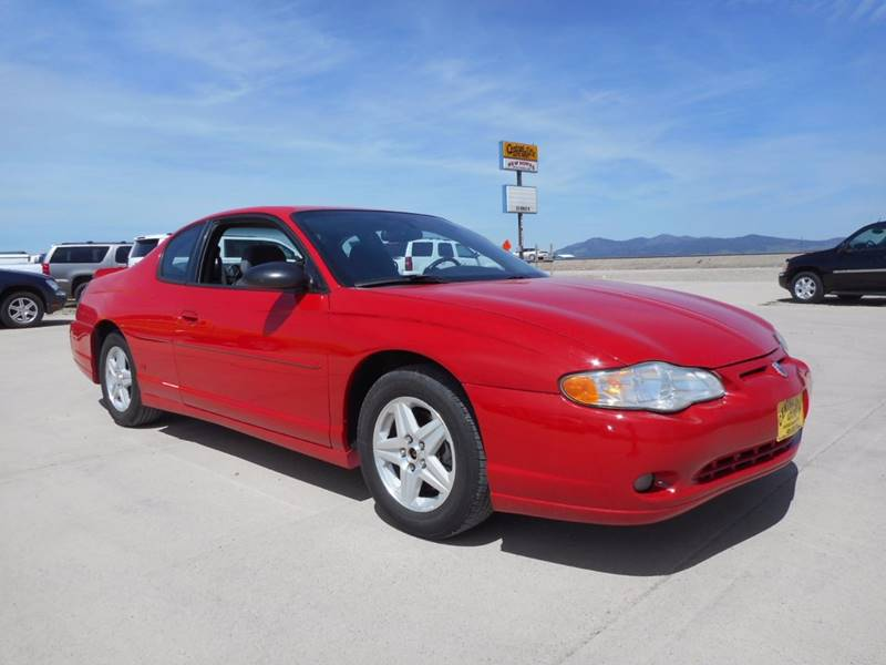 Superb 2004 Chevrolet Monte Carlo For Sale At Central City Auto West In Lewistown  MT