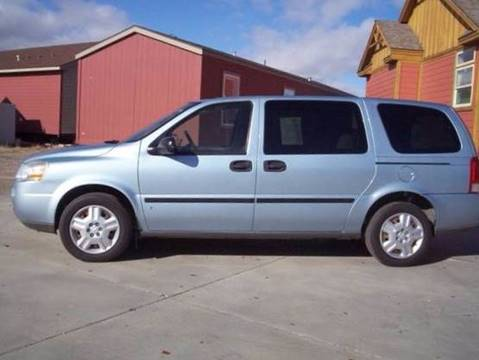 2007 Chevrolet Uplander For Sale At Central City Auto West In Lewistown MT