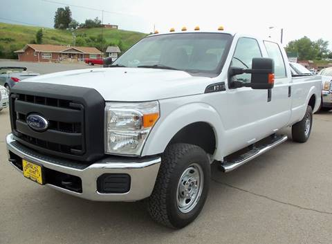 2015 Ford F-250 Super Duty XL for sale at Central City Auto West in Lewistown MT