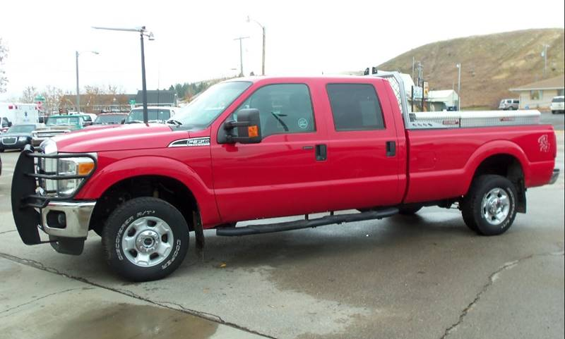 2012 Ford F-350 Super Duty XLT 4x4 4dr Crew Cab 8 ft. LB SRW Pickup