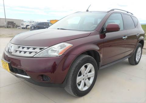 2007 Nissan Murano S for sale at Central City Auto West in Lewistown MT