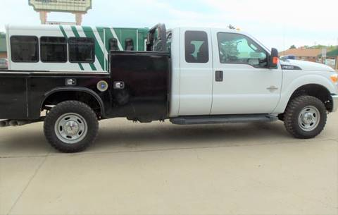 2015 Ford F-350 Super Duty XLT for sale at Central City Auto West in Lewistown MT