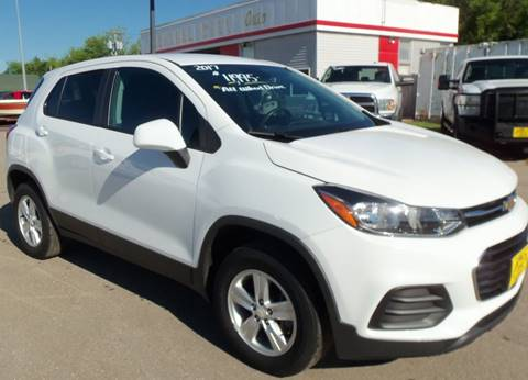 2017 Chevrolet Trax for sale at Central City Auto West in Lewistown MT