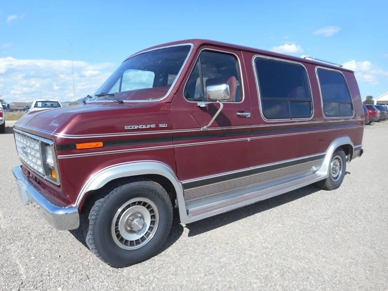 1987 Ford E-Series Cargo E 150 3dr Cargo