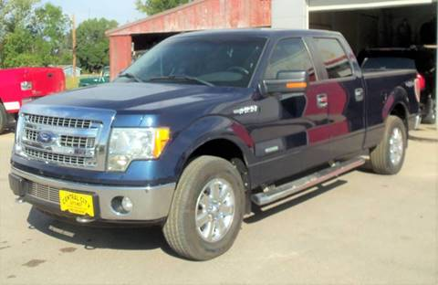 2014 Ford F-150 XLT for sale at Central City Auto West in Lewistown MT