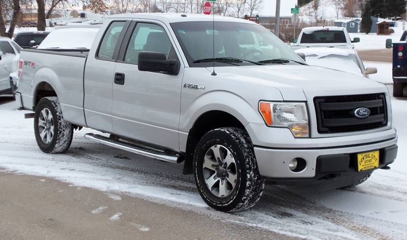 2013 Ford F-150 STX 4x4 4dr SuperCab Styleside 6.5 ft. SB