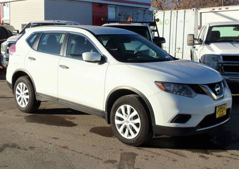 2016 Nissan Rogue S for sale at Central City Auto West in Lewistown MT