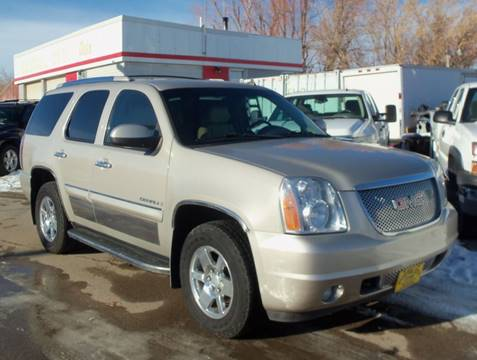 2008 GMC Yukon Denali for sale at Central City Auto West in Lewistown MT