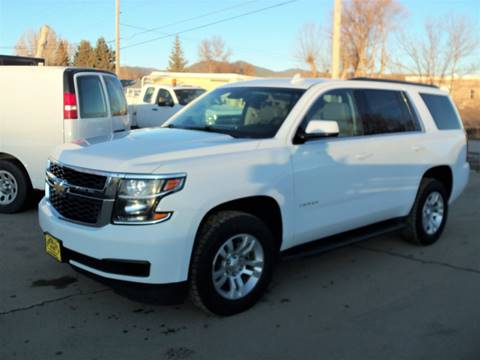 2016 Chevrolet Tahoe LT for sale at Central City Auto West in Lewistown MT