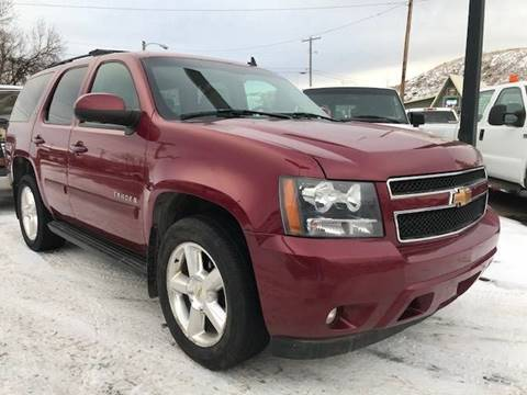 2007 Chevrolet Tahoe for sale at Central City Auto West in Lewistown MT