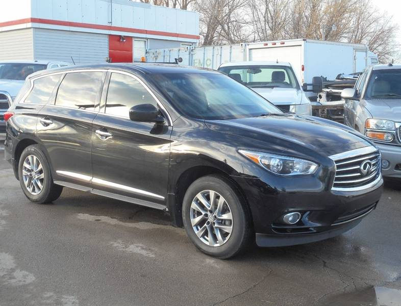 2013 Infiniti JX35 for sale at Central City Auto West in Lewistown MT