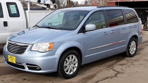 2013 Chrysler Town and Country Touring for sale at Central City Auto West in Lewistown MT