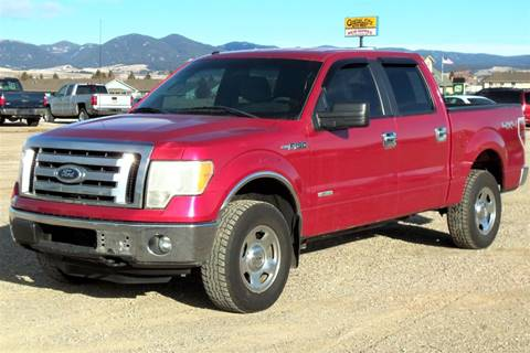 2011 Ford F-150 XLT for sale at Central City Auto West in Lewistown MT