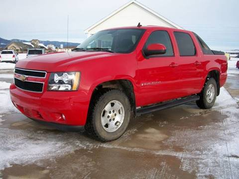 2007 Chevrolet Avalanche LT 1500 for sale at Central City Auto West in Lewistown MT