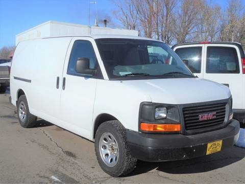 2012 GMC Savana Cargo for sale at Central City Auto West in Lewistown MT