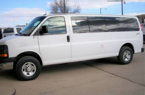 2015 Chevrolet Express Passenger for sale at Central City Auto West in Lewistown MT