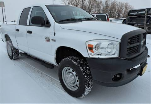 2008 Dodge Ram Pickup 2500 for sale at Central City Auto West in Lewistown MT