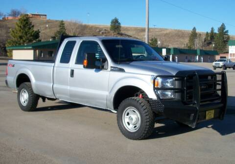 2016 Ford F-250 Super Duty for sale at Central City Auto West in Lewistown MT