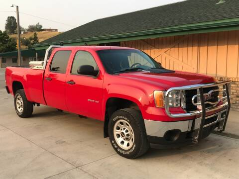2012 GMC Sierra 3500HD for sale at Central City Auto West in Lewistown MT