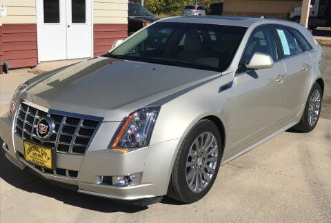 2014 Cadillac CTS for sale at Central City Auto West in Lewistown MT