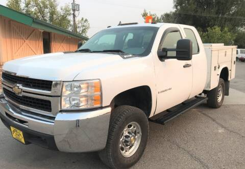 2008 Chevrolet Silverado 2500HD for sale at Central City Auto West in Lewistown MT