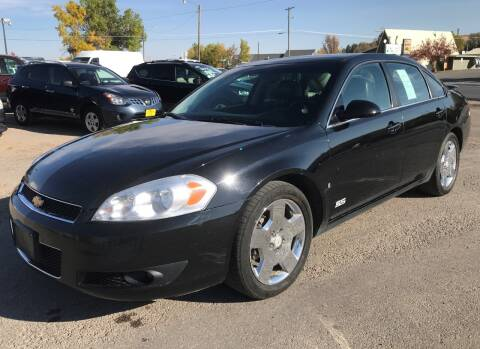 2008 Chevrolet Impala for sale at Central City Auto West in Lewistown MT
