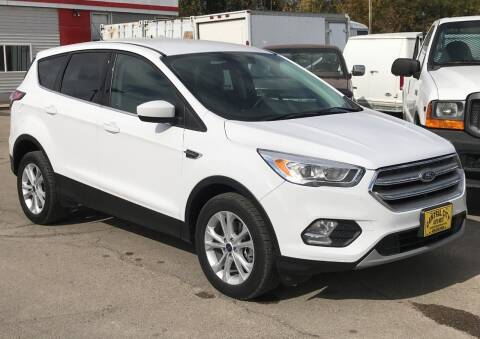 2017 Ford Escape for sale at Central City Auto West in Lewistown MT