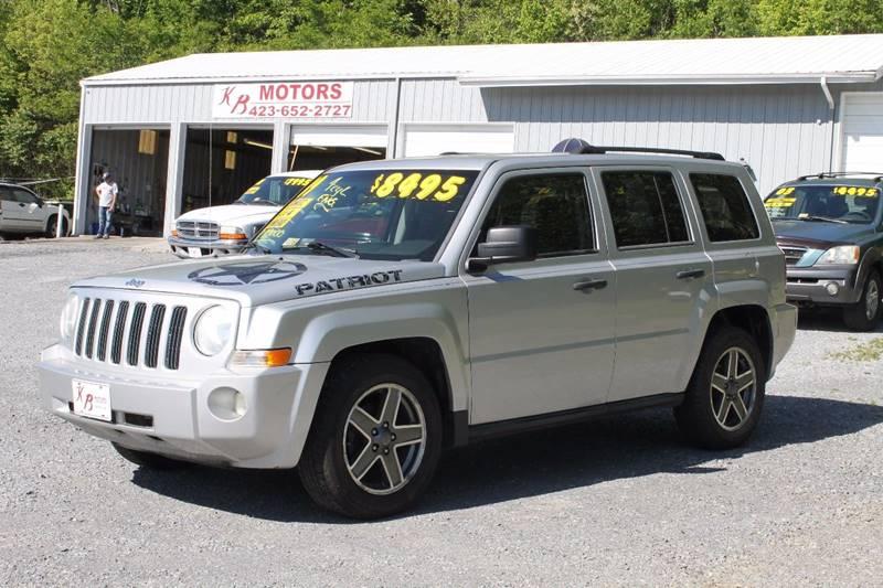 2009 Jeep Patriot 4x4 Sport 4dr SUV - Bristol VA