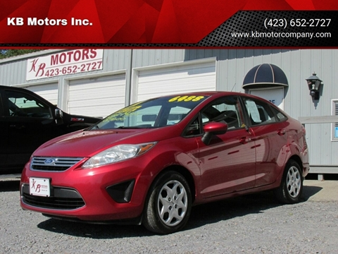 2011 Ford Fiesta for sale at KB Motors Inc. in Bristol VA