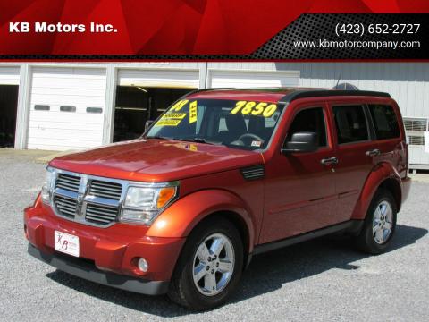 2008 Dodge Nitro for sale at KB Motors Inc. in Bristol VA
