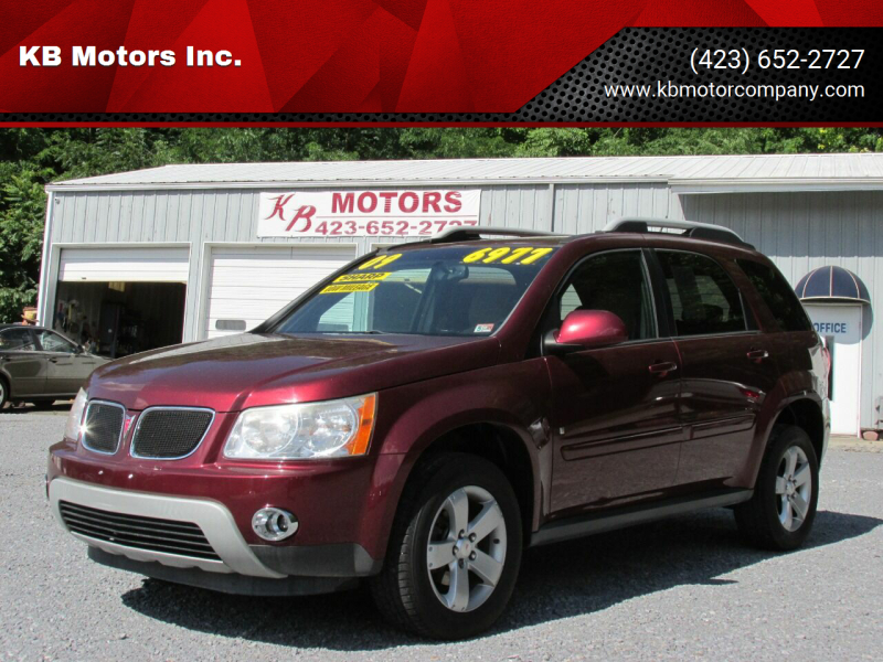 2009 Pontiac Torrent for sale at KB Motors Inc. in Bristol VA