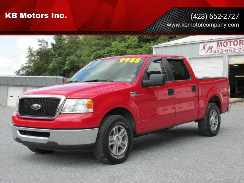 2007 Ford F-150 for sale at KB Motors Inc. in Bristol VA