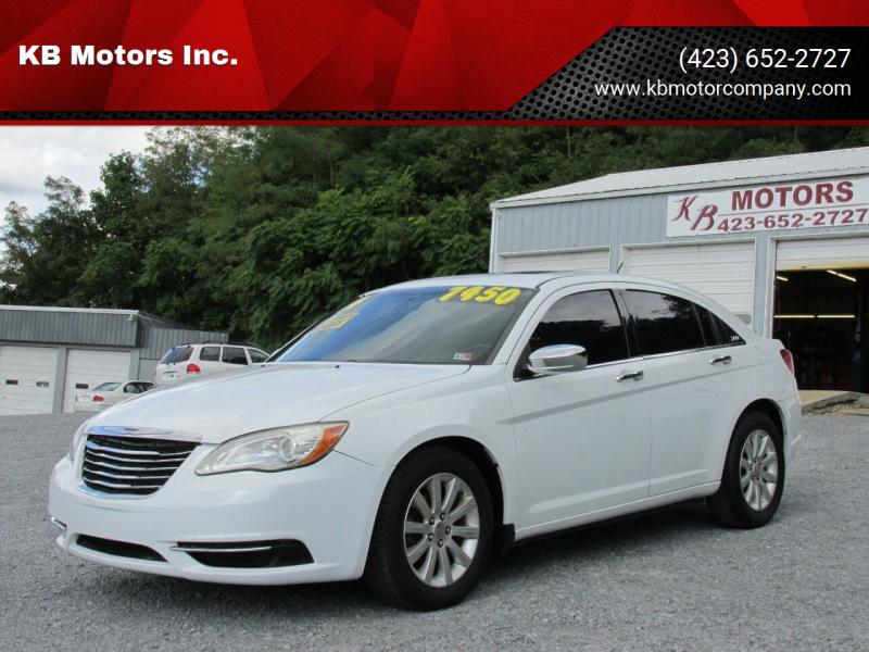 2014 Chrysler 200 for sale at KB Motors Inc. in Bristol VA