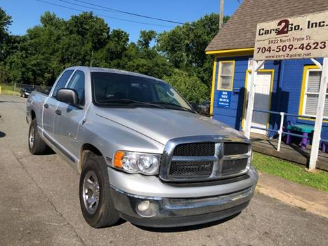 Dodge Ram Pickup 1500 For Sale in Charlotte, NC - Cars 2 Go Inc