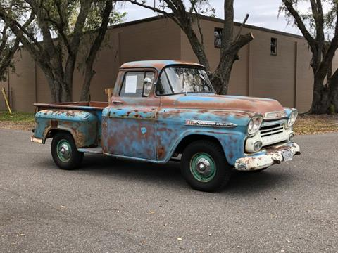 1960 chevy pickup short bed