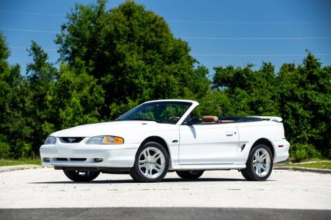 1998 Ford Mustang GT for sale at Orlando Classic Cars in Orlando FL