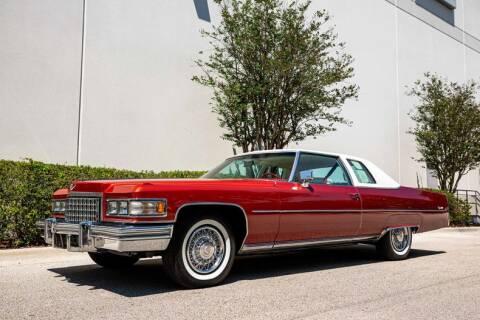 1976 Cadillac DeVille for sale at Orlando Classic Cars in Orlando FL