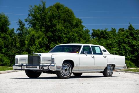 1979 Lincoln Town Car for sale at Orlando Classic Cars in Orlando FL
