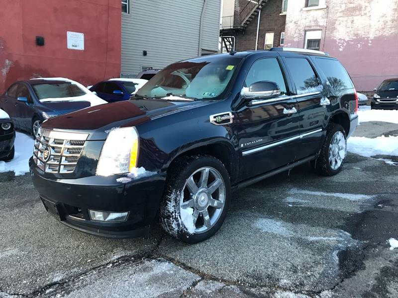 glendale hybrid pre escalade cadillac inventory sport in used utility owned