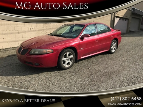 2005 Pontiac Bonneville for sale in Pittsburgh, PA