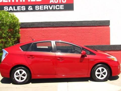 2014 Toyota Prius for sale in Scottsdale, AZ