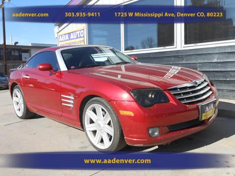 2004 Chrysler Crossfire for sale in Denver, CO