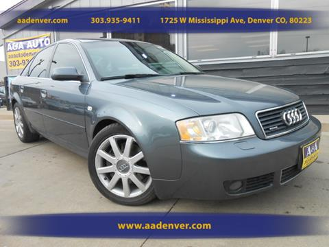 2004 Audi A6 for sale in Denver, CO